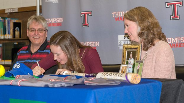 THS softball player signs with Bevill State