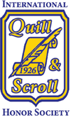 <strong>Quill and Scroll International Honorary Society</strong><br />(Read More...)