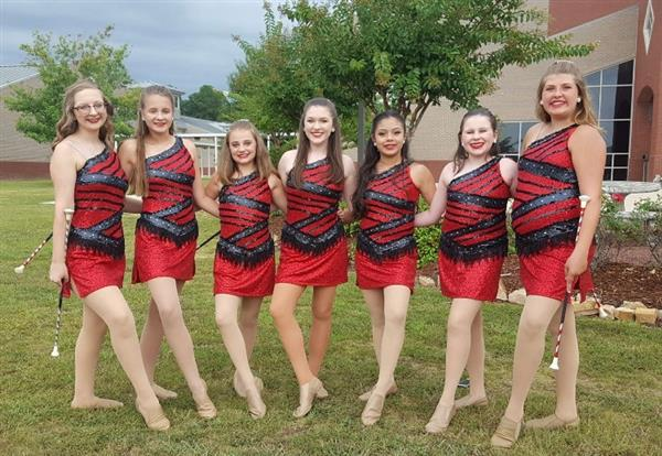 Welcome to the TMS Majorette Page