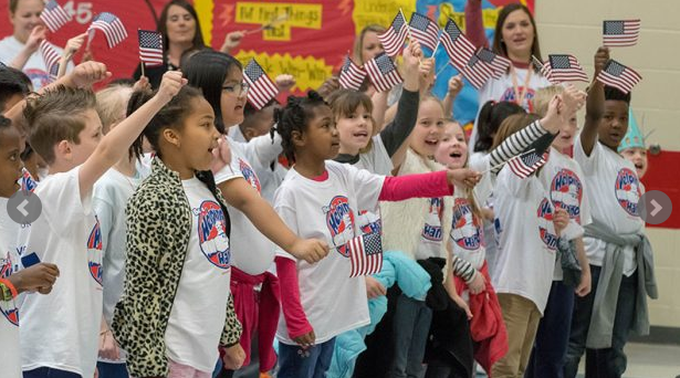 CVES Second Graders Honor Their Heroes
