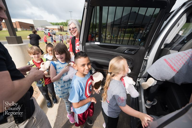 First Graders Get Hands-On Look at Careers on Wheels