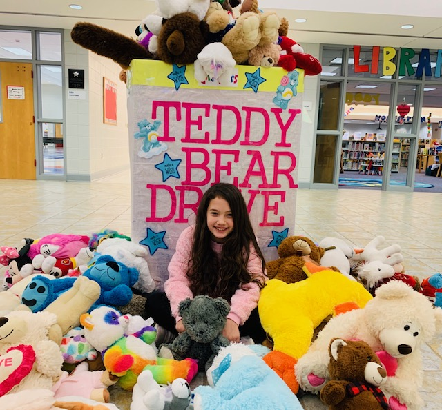 Caroline Cook: Teddy Bear Project for Make-A-Wish