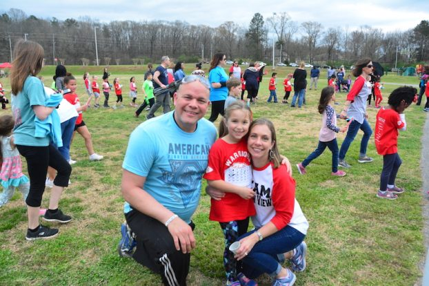 Warrior Run Raises Funds for School